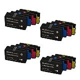 RICR Cartuchos De Tinta Remanufacturados para HP 962 966 XL Reemplazo, Compatible para HP OfficeJet Pro 9020 9025 9010 9012AIO 9015 9018 9026 9027 9028 9029 902x Impresor 4set