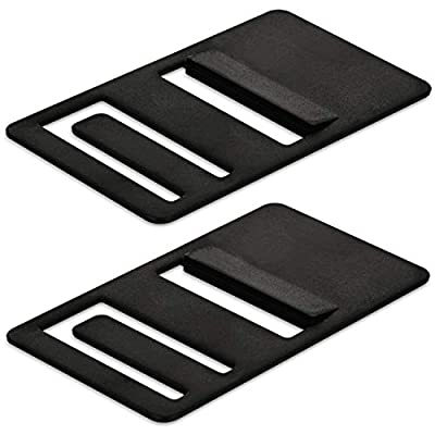 Mission Automotive [2 Pack] Refrigerator Airing Device Compatible with Dometic Models DM26XX, DM28XX - RV Refrigerator Door Prop Clips to Prevent Build Up and Odor - RV Refrigerator Door Stay Open by Mission Automotive