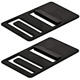 [2 Pack] Mission Automotive Refrigerator Airing Device Compatible with Dometic Models DM26XX, DM28XX - RV Refrigerator Door Prop Clips to Prevent Build Up and Odor - RV Refrigerator Door Stay Open