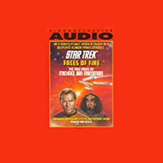 Star Trek: Faces of Fire audiobook cover art