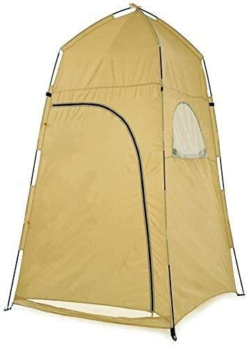 NLRHH Pop-up Tent Waterproof Portable Camping Privacy Tent Instant Toilet Shower Changing Room Tent with Bag peng