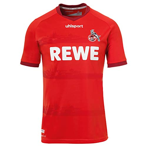 uhlsport 1. FC Köln Trikot Away 2020/2021 Herren rot/weiß, XL