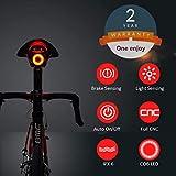 Luce Posteriore Smart Bike Ultra Bright, Luce accendisigari...