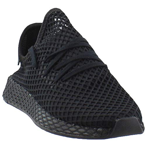 adidas Originals Deerupt Runner Shoe Mens Casual 13 Black-White