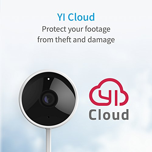 YI Outdoor Security Camera Waterproof, 1080p 2.4GHz Wifi Surveillance System with Activity Alert, Deterrent Alarm-Works with Alexa