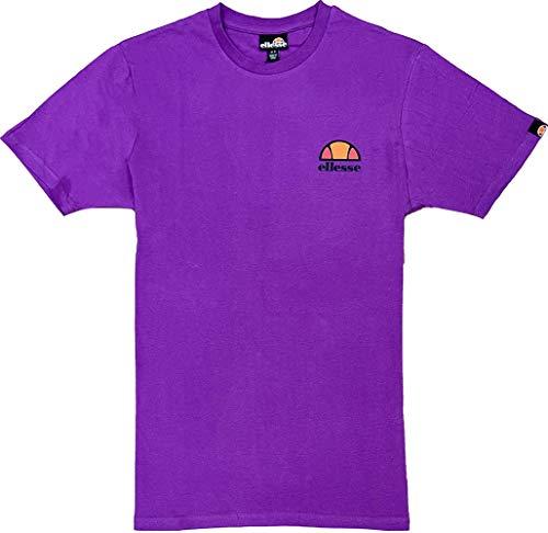 ellesse Herren Canaletto_Mens_Tee Kurzärmeliges T-Shirt, Violett, S