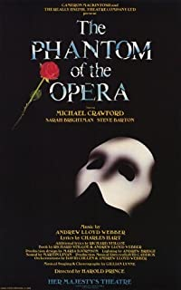 Phantom of the Opera, The (Broadway) 11 x 17 Broadway Show Poster