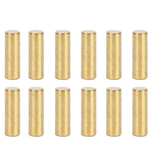 Bnineteenteam 12 stks Professionele Pickup Paal Slug Metalen Pins Slug Staven voor Elektrische Bas Gitaar Vervangende Onderdelen