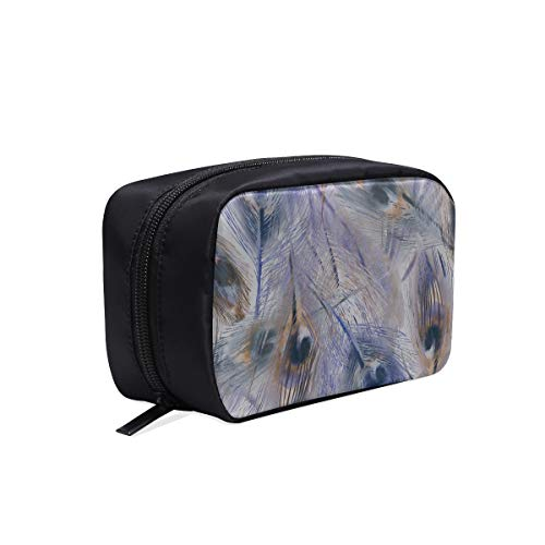 Hanging Cosmetic Travel Bag Beautiful Bird Peacock Feather Flower Travel Size Cosmetic Bag Comfortable Travel Bag Womans Traveling Bag Cosmetic Bags Multifunction Case Makeup Bag Cosmetic
