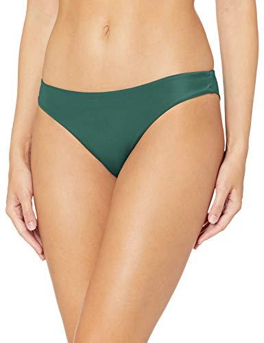 RVCA Damen SOLID Cheeky Bikini Bottom Bikinihose, grün, X-Large