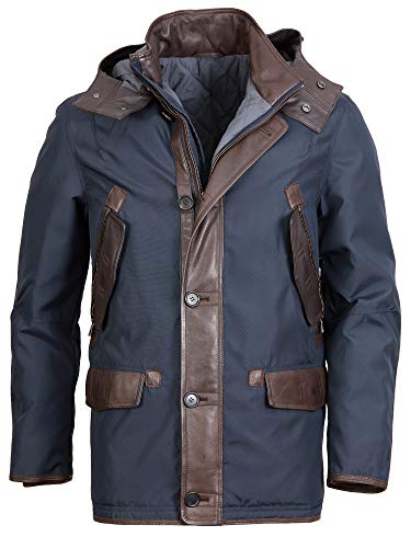 Offset Lederjacke 101 Thion 2 (Dark Brown, 50)