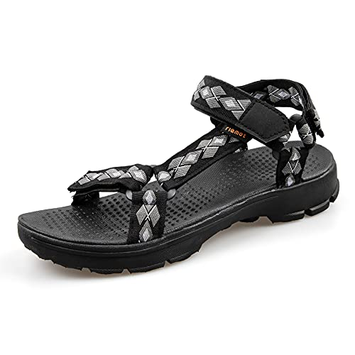 riemot Sandalias Hombre, Zapatos Verano para Caminar, Sandalias de Senderismo, Trekking, Playa, Casual, Sandalias Deportivas...