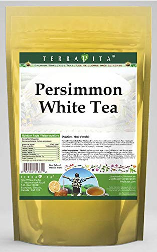 Persimmon White Tea 25 tea bags 海外限定 Pack ZIN: 2 533703 安値 -
