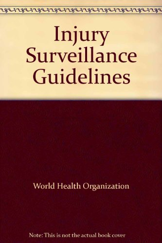 Injury Surveillance Guidelines