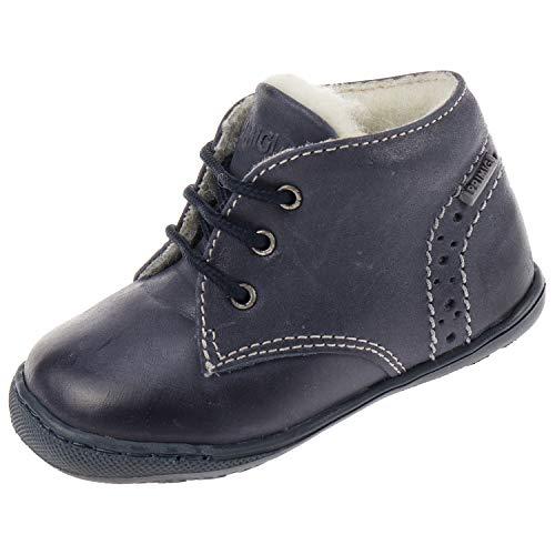 Primigi. Babyschoenen voor jongens laarzen loopschoenen gevoerd Erwan Blue Blue 2054077