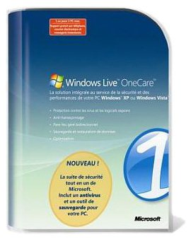Windows live one care 1.5