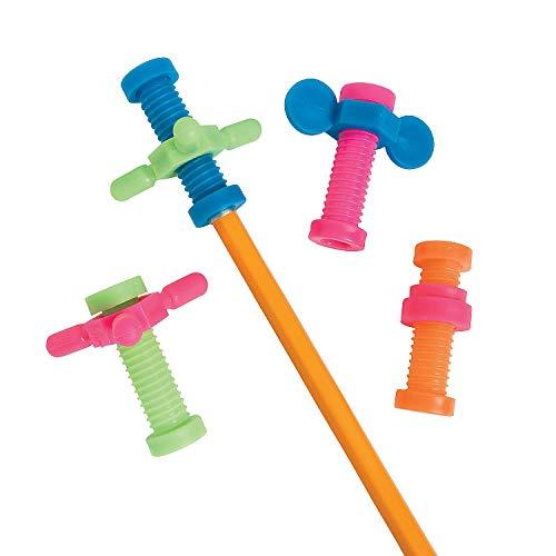 Fun Express Gadget Pencil Toppers (4 Dz) - Stationery - Pencil Accessories - Misc Pencil Accessories - 48 Pieces