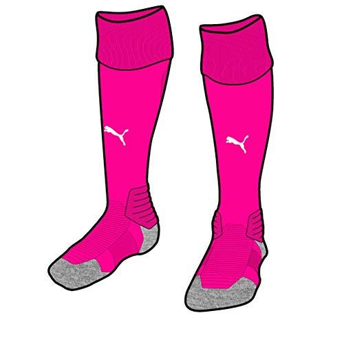 Puma Herren Team Liga Socks, Fuchsia Purple White, 3