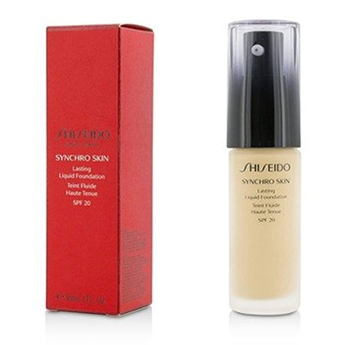 [Shiseido] Synchro Skin Lasting Liquid Foundation SPF 20 - Neutral 2 30ml/1oz