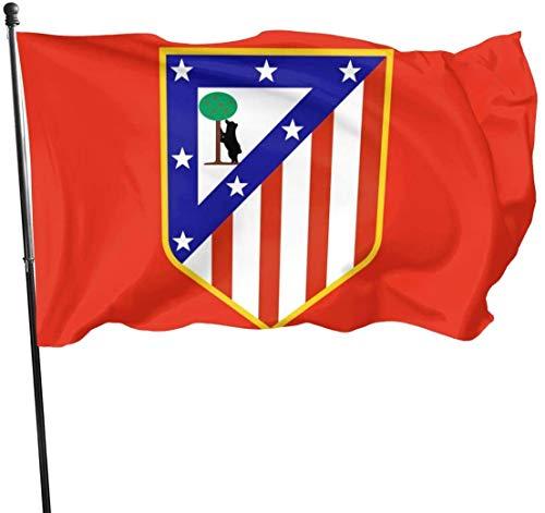 Viplili Banderas, Atletico Madrid Vs Valencia Flags 3x5 Feet Garden House Outdoor Banners Decorative Flag