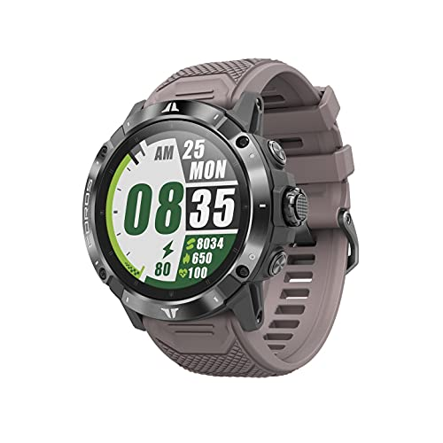COROS Vertix 2 reloj de aventura GPS con mapeo global sin conexión, GPS de doble frecuencia, cristal de zafiro con revestimiento de diamante y bisel de titanio (Obsidian)