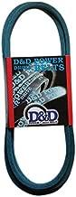D&D PowerDrive M82718 John Deere Kevlar Replacement Belt, 4LK, 1 -Band, 90