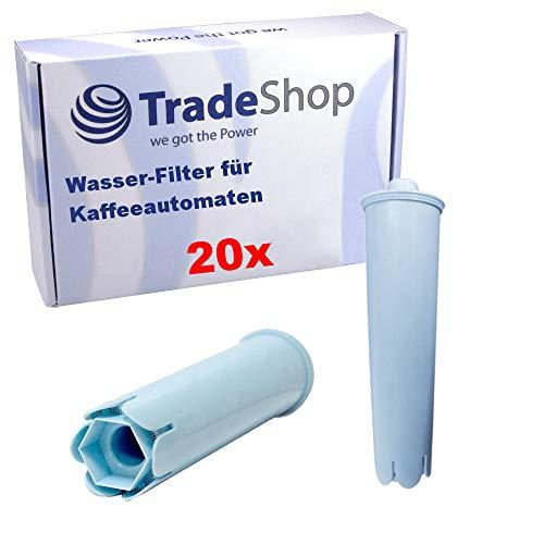 Trade-Shop 20x Wasser-Filter für Jura ENA 1 Micro 1, ENA 3, ENA 5, ENA 7, ENA 8, ENA 9, ENA 9 One Touch Kaffeevollautomaten/Hochwertige Filterpatrone