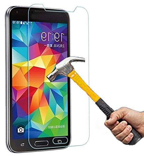 Panzerglas für Samsung Galaxy S5 S5 Neo / S5 LTE+ / S5 Duos Schutzfolie Schutzglas Panzerfolie Glas Bildschirmschutz Glasfolie Echtglas Bildschirmschutz klar Folie