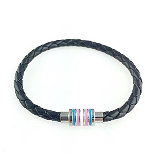 Trans Pride Black Bracelet