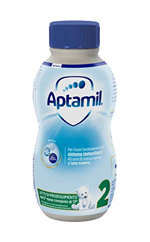 Aptamil 2 Latte di Proseguimento Liquido - 12 Pezzi da 500 ml