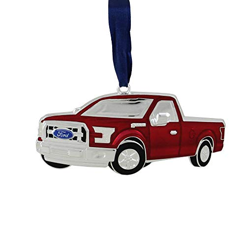 """Northlight 4"""" Red Ford F-150 Pick Up Truck Christmas Ornament"""