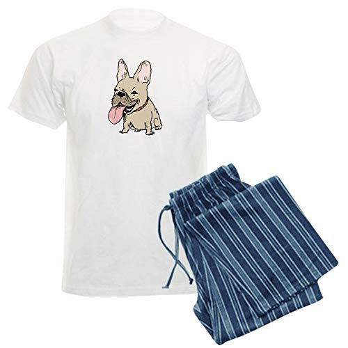 CafePress Frenchie Unisex Novelty Cotton Pajama Set, Comfortable PJ Sleepwear