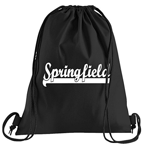 T-Shirt People Springfield Sportbeutel – bedruckter Beutel – eine schöne Sport-Tasche Beutel mit Kordeln