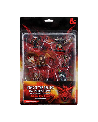 WizKids D&D Icons of The Realms Figure Pack: Descent Into Avernus: Arkhan The Cruel & The Dark Order