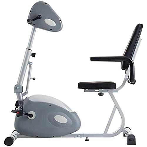 YVX Tren de Fitness a Pedal, camión de Fitness Horizontal, Bicicleta de Fitness para Interiores, Resistencia Antigua Ajustable de Diez velocidades, Fitness de Pedal de bajo Impacto (tamaño: B)