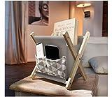 Organizador múltiple para teléfono móvil, cable de carga, mando a distancia, etc. – Soporte de ropa para salón, oficina y cocina