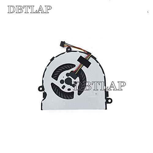 DBTLAP enfriamiento Ventilador compatibles para HP 250G4 255G4 TPN-C125 813946-001 15Q-AJ006TX 15-BD 4pin