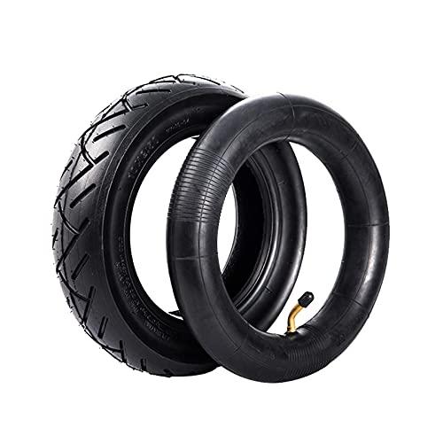 10 Pulgadas 10x2.5 Neumáticos para Scooters Eléctricos, Neumáticos Exteriores e Interiores de Repuesto Duraderos Antideslizantes Resistentes a Perforaciones