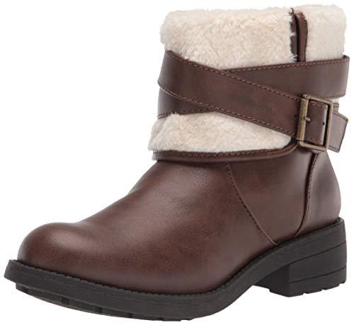 Rocket Dog Women's TREPP Grand PU/Shepherd Fabric Ankle Boot, Brown, 6.5