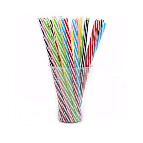 10pcs cannuccia riutilizzabili di spessore di plastica Cannucce per Mason Jar Tumbler famiglia o parti utilizzano 23 centimetri strumenti di utilità Kitchen