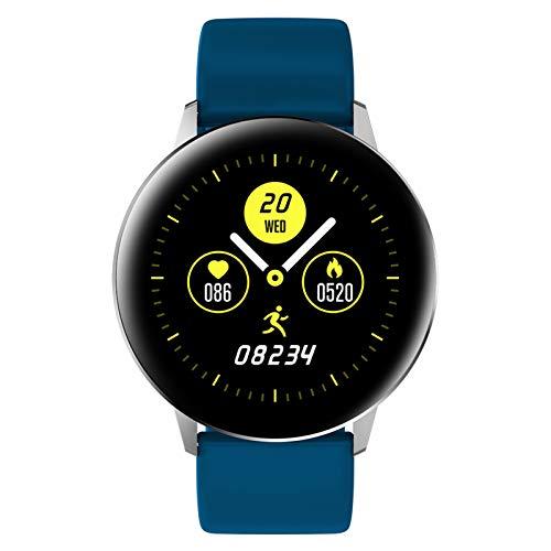 Lixada Reloj Inteligente IP67 con Ritmo cardiaco Contador de Pasos Contador de Calorias Monitoreo del Sueño para Mujeres Hombres