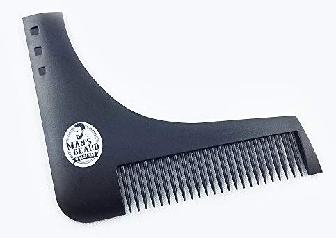 Man's Beard - Stencil con pettine integrato