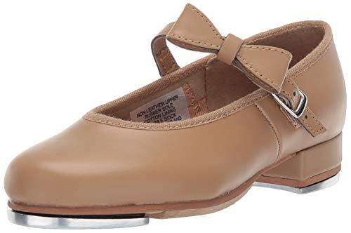 Bloch girls Girl's Merry Jane Tap Dance Shoe, Brown Tan, 13.5 Little Kid US