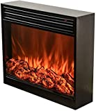 SYLOZ Electric Fireplace, Built-in Simulation Flame Customized Decorative Fireplace Core for European Style