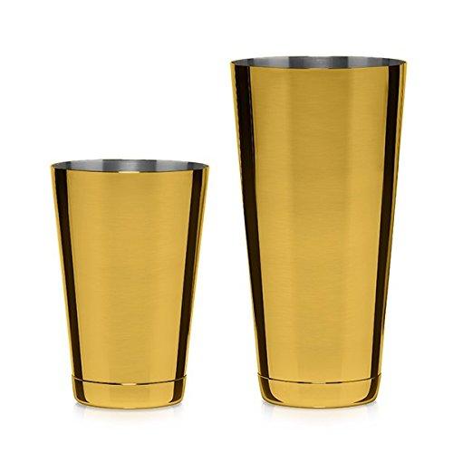 Cocktail Kingdom Koriko Weighted Shaking Tin Set - Gold-Plated
