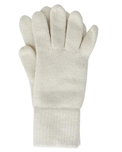 Foster-Natur, guanti in lana da donna, 100% merino naturale 7,5