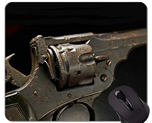 Mausunterlagen Besonders angefertigt, Gewehr-Waffen-Waffen-Gummimausunterlage