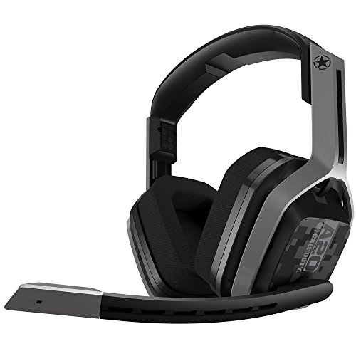 ASTRO Gaming A20 Call Of Duty Edition Headset (draadloos, compatibel met Xbox One, PC, Mac) zilver/zwart
