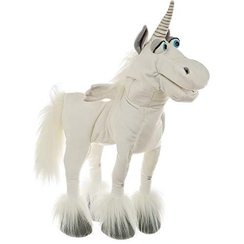 Living Puppets W221 Elke das Einhorn Handspieltiere, Weiß
