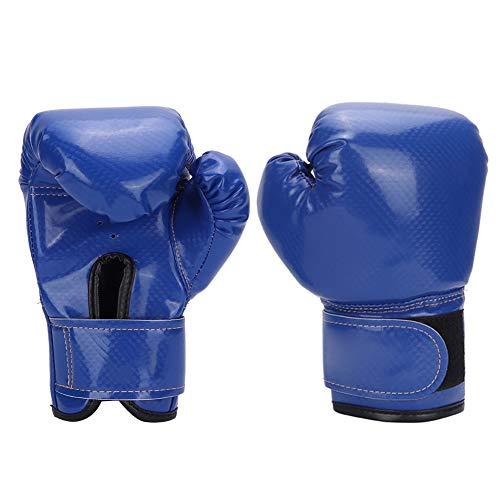 BigBig Style Kinder Boxhandschuhe PU Leder Handbandagen Handschuhe Kids Fighting Sparring Punching Sandsack Handschuhe Training Mitts, 1471781/120029AFSJUC, blau